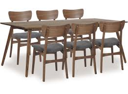 Solid Walnut Dining Chairs by Table Solid Walnut Chairs Tweed Fabric Seat Solid Walnut