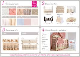Design Crib Bedding Design Your Own Baby Bedding