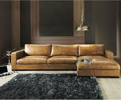 canapé cuir angle le canapé d angle en cuir 60 idées d aménagement archzine fr
