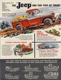 Vintage Ford Truck Ads - advertising u0026 brochures ewillys page 4