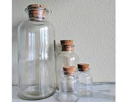 Glass Canister Sets For Kitchen by Glass Canister Set Etsy