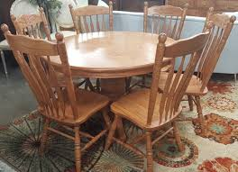 Amish Dining Tables Amish Dining Table With 6 Chairs U0026 6 Leaves Marva U0027s Placemarva U0027s