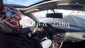 Is The Honda Civic Si Turbo Honda Civic Si Em1 Ls Vtec Turbo 1 4 Mile Drag Racing Youtube