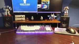 Studio Monitor Desk by Loving The 10 Monitor Stand Keyboard Garage Mechanicalkeyboards