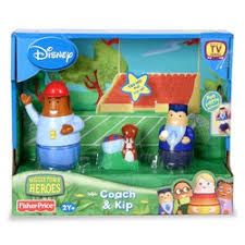 amazon higglytown heroes coach kip toys u0026 games