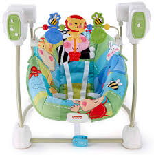 Fisher Price High Chair Swing Fisher Price Space Saver Swing Vs Bright Starts Portable Swing