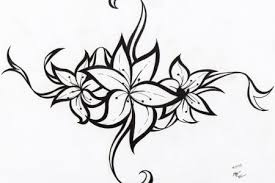 flower tribal tattoo designs