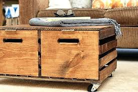 Rolling Ottoman Rolling Storage Ottoman Intuitivewellness Co