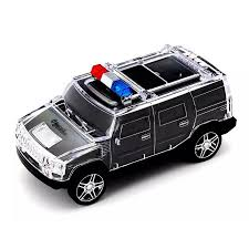 minecraft police car best police car shaped bluetooth speakers mini led light