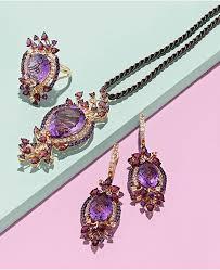 cord pendant necklace images Le vian crazy collection multi stone cord pendant necklace in 14k tif