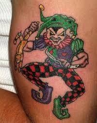 evil court jester tattoos google search tats pinterest