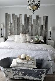 reclaimed wooden headboard hometalk