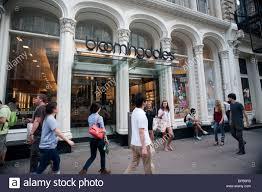 Bloomingdales New York Map by Bloomingdale U0027s Department Store Exterior Stock Photos