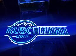 busch light neon sign busch light blue neon sign real neon light for sale hanto neon sign