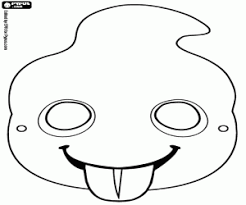 coloring pages halloween masks halloween masks coloring pages funny coloring