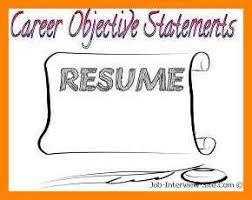 career objective sample art resumes
