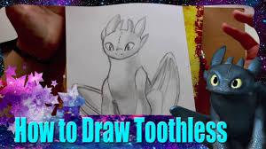 draw toothless dreamwork u0027s train dragon