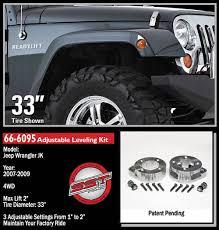 1988 jeep wrangler lift kit jeep jk wrangler 2 front leveling kit 2007 2015