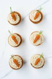 carrot cake cupcakes vegan gf wallflower kitchen