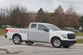 nissan frontier extended bed 2018 nissan titan extended cab spied