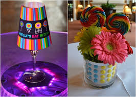 sweet sixteen centerpieces 30 candy theme ideas bat mitzvah party sweet 16 or wedding