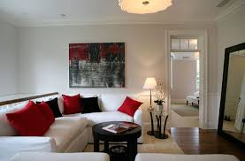 red and black living room designs second floor family room transitional living room giannetti home