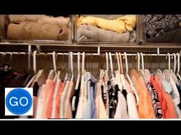 How To Organize Pants In Closet - how to organize a very small closet space youtube