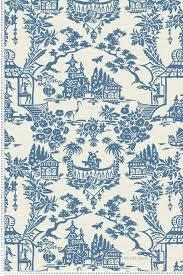 Rideaux Toile De Jouy Papier Peint Toile De Jouy Chinoise Bleu Collection Chinoiserie