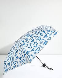 rosy rain print umbrella jigsaw