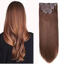 Brown Hair Extensions by Clip In Hair Extensions Bhf 20 U0027 U0027 Chocolate Brown 4 120g