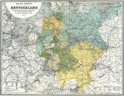 Unification Of Germany Map by Riding The Rails