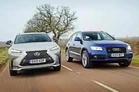 lexus vs lexus nx vs audi q5 auto express