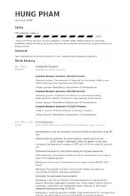graduate student resume samples visualcv resume samples database