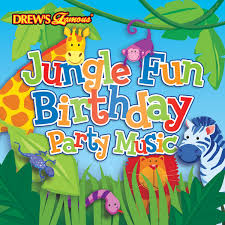 the hit crew drew u0027s famous jungle fun birthday party music cd