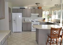 painting kitchen kitchen gray painted kitchenbinets grey chalkbinet ideas bluish