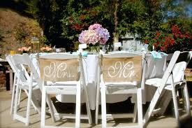 burlap wedding decorations burlap wedding decorations burlap wedding chair signs and s chair