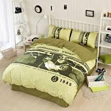 Army Bed Set Cs Counter Strike Bedding Set Armygreen Camouflage Sports Boys