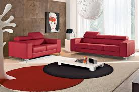 Round Red Rugs Living Room Handsome Beautiful House Living Room Decoration Using