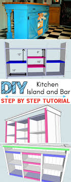 how to build kitchen cabinets free plans 10 free diy kitchen island plans diy things