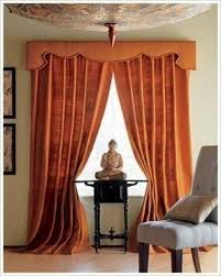 Red Scarf Valance Valances For Wide Windows Foter