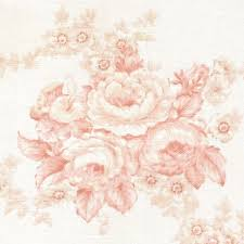 vtg laura ashley fabric shabby chic pink roses english country