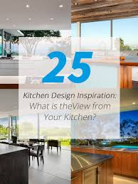 Kitchen Design Inspiration 25 Kitchen Design Inspiration What Is The View From Your Kitchen