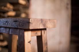 reclaimed wood bar stools reclaimed wood farm table
