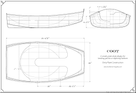 coot dinghy plans guillemot kayaks small wooden boat designs