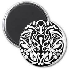 tribal tattoo designs refrigerator magnets zazzle