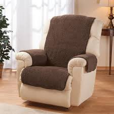 sherpa recliner protector by oakridge comforts miles kimball