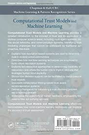pattern recognition and machine learning epfl buy computational trust models and machine learning chapman hall