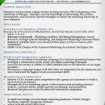 Resume Examples College by College Resume Example Sample Business And Marketing Resume