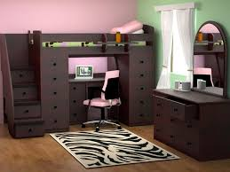 Cool Bunk Beds With Desk by 179 Best Bedroom Ideas Images On Pinterest Lofted Beds 3 4 Beds