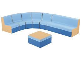 kit basic grand canapé d angle hauteur 17 cm wesco pro